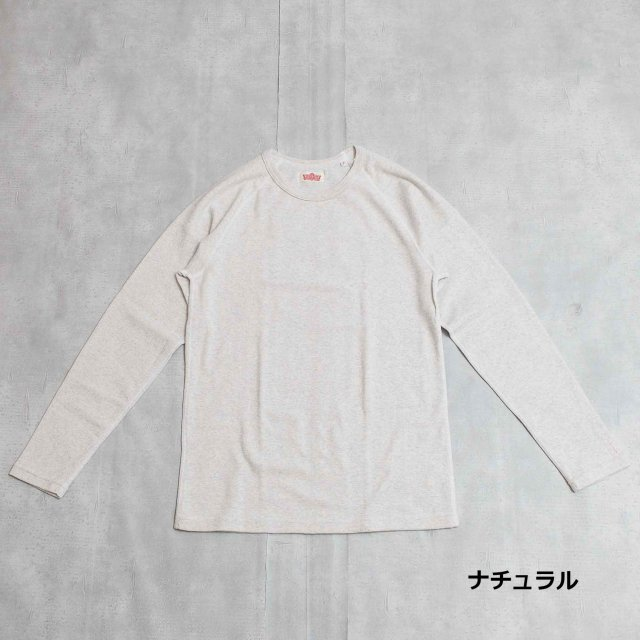 HOLLYWOOD RANCH MARKET <h3>Men's Stretch Fraise Long Sleeve T-Shirts /フライスロングスリーブティーシャツ