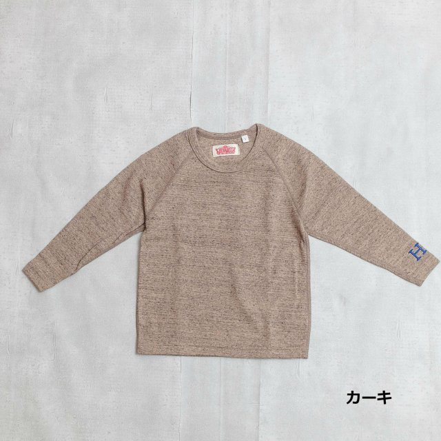 HOLLYWOOD RANCH MARKET <h3>Kids Stretch Fraise Long Sleeve T-Shirts /フライスロングスリーブティーシャツ