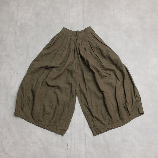 HARVESTY<h3>Women's Linen Circus Culottes/リネンサーカスキュロット
