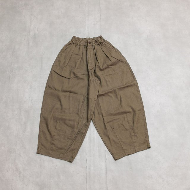 HARVESTY<h3>Women's Linen Cotton Circus Pants/リネンコットンサーカスパンツ