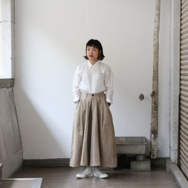 HARVESTY<h3>Women's Chino Carmen Culottes /チノカルメンキュロット