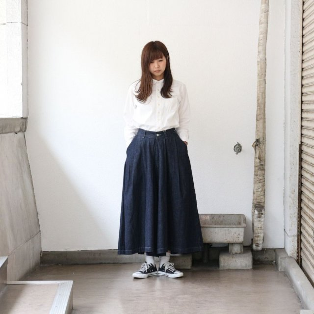 HARVESTY<h3>Women's Denim Carmen Culottes /デニムカルメンキュロット
