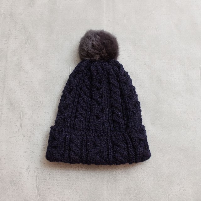CLIPPER <h3>Watch Knit Cap/ボンボンワッチニットキャップ