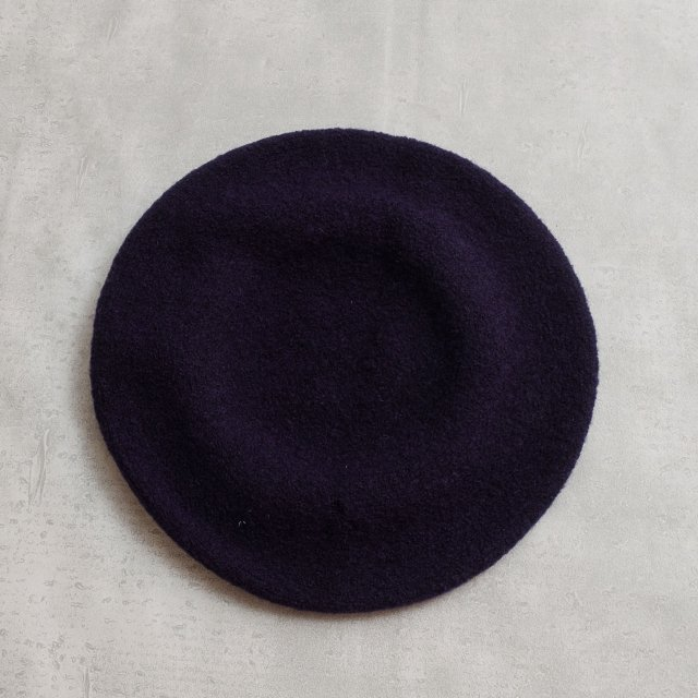 New York Hat<h3>Wool Beret/ウールベレー帽