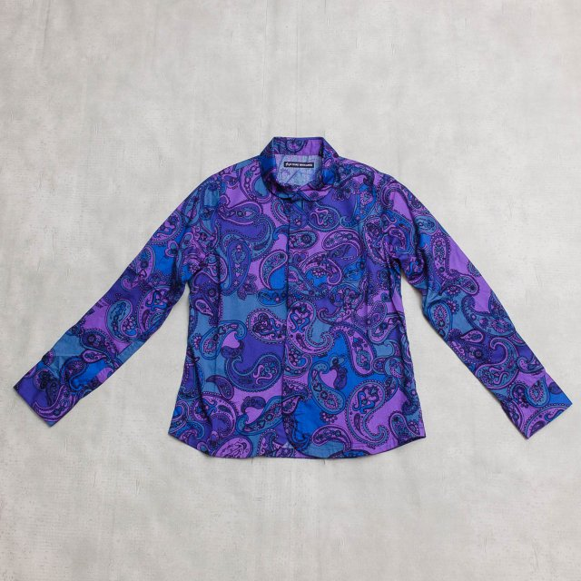 TIGRE BROCANTE <h3>Women's  Paisley Satin Shirts/ペイズリーサテンエスプリシャツ