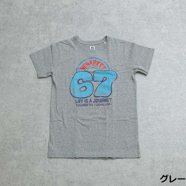 HOLLYWOOD RANCH MARKET <h3>Men's Cracking67 T-Shirt /プリントTシャツ