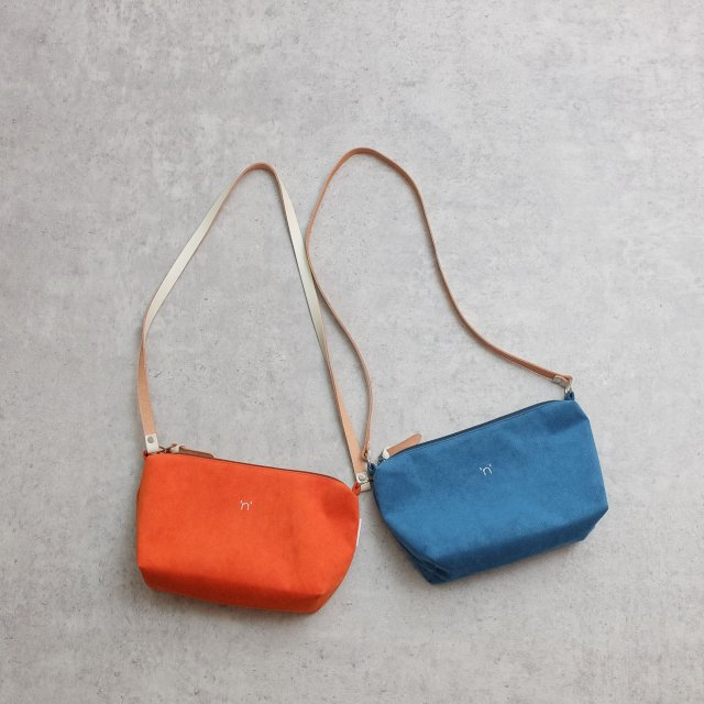 BAG'n'NOUN <h3>OVAL POUCH 'LONG' /ポーチ