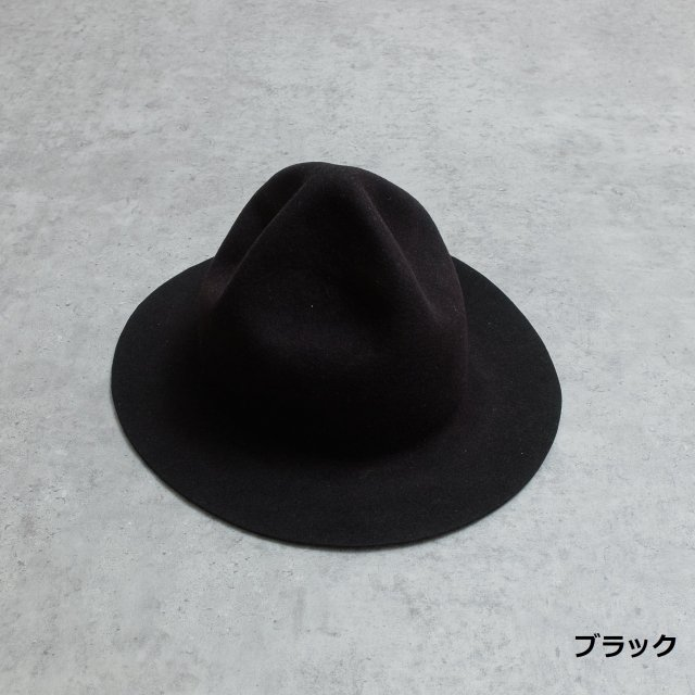 HIGHER<h3> Wide Brim Felt Mountain Hat /マウンテンハット