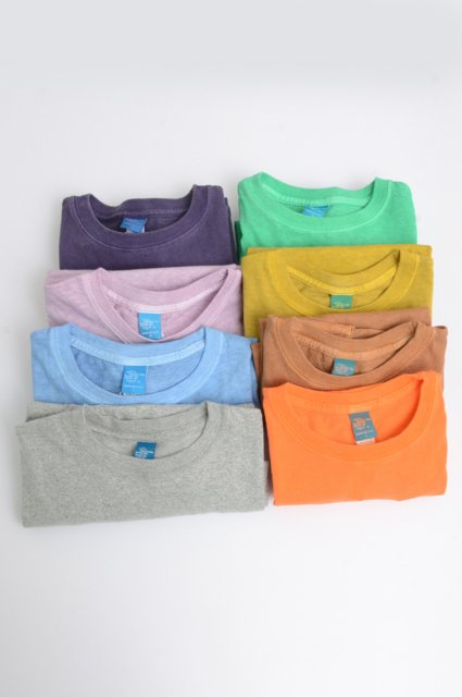 <b>GOOD ON</b> <br>Short Sleeve Crew Tee Pigment Dye