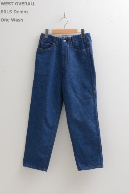 <b>WEST OVERALLS</b><br>801S Denim