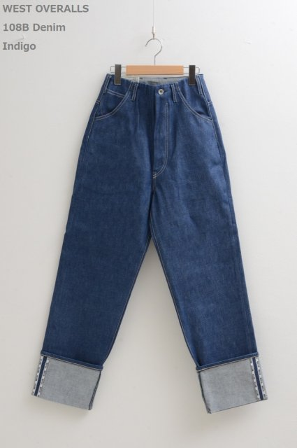 <b>WEST OVERALLS</b><br>108B Denim