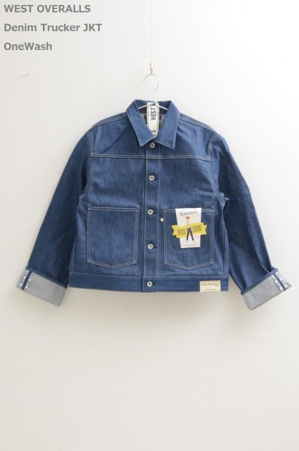 <b>WEST OVERALLS</b><br>108J Denim Tracker JKT