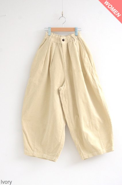 <b>HARVESTY</b><br>Corduroy Circus Pants