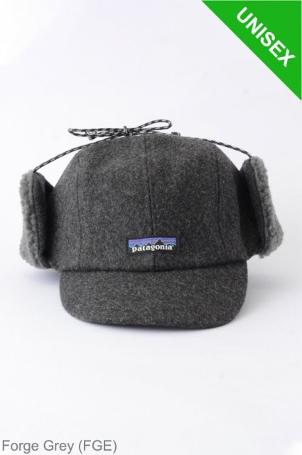 <b>PATAGONIA</b><br>Recycled Wool Ear Flap Cap