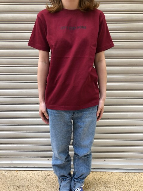 <img class='new_mark_img1' src='https://img.shop-pro.jp/img/new/icons61.gif' style='border:none;display:inline;margin:0px;padding:0px;width:auto;' />Let's Stay Home PT Short Sleeve T SHIRTS