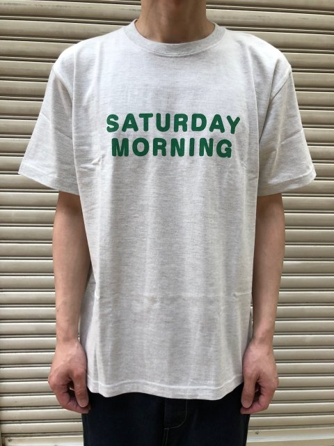 <img class='new_mark_img1' src='https://img.shop-pro.jp/img/new/icons61.gif' style='border:none;display:inline;margin:0px;padding:0px;width:auto;' />Saturday Morning PT Short Sleeve T SHIRTS