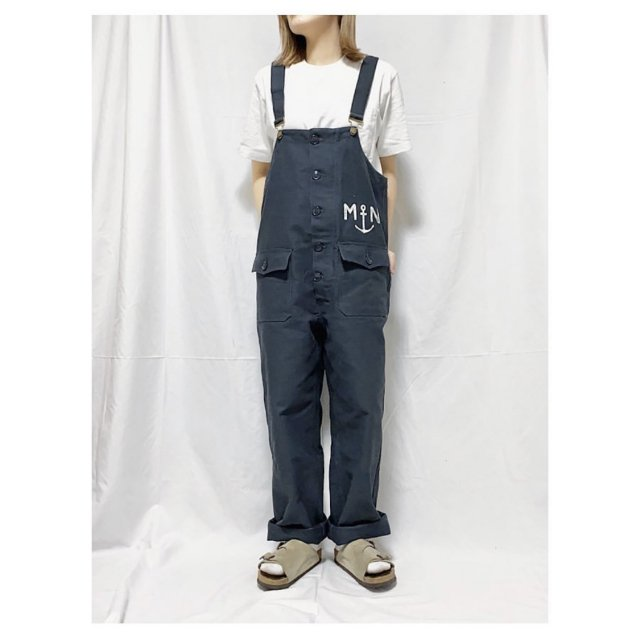 French Navy Deck Pants