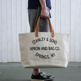 STANLEY & SONS <h3>Large Circle Logo Tote/サークルロゴトート