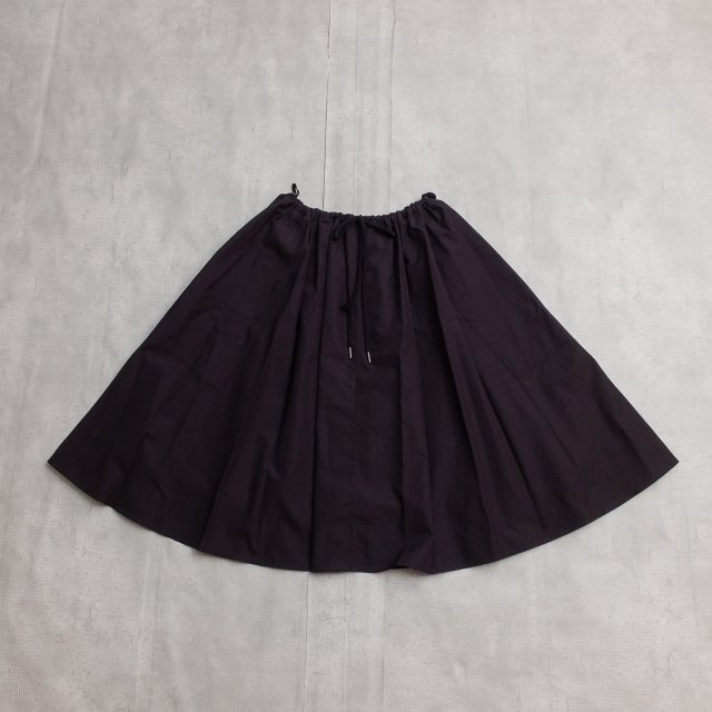 Le glazik <h3>Gathered Flare Skirt/ギャザーフレアスカート
