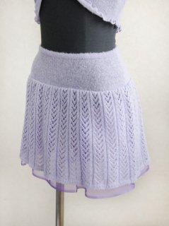 ふわふわニットスカート