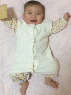 Babyモコモコベスト
