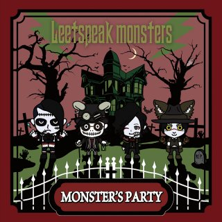1st Maxi Single『Monster's Party』通常盤/3曲入りCD