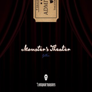 1st FULL ALBUM『Monster's Theater』ゴシック盤
