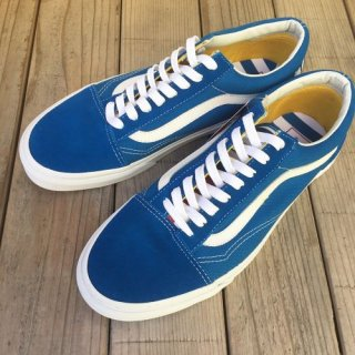 <img class='new_mark_img1' src='//img.shop-pro.jp/img/new/icons50.gif' style='border:none;display:inline;margin:0px;padding:0px;width:auto;' />VANS バンズ VANS OLD SKOOL オールドスクール BLUE/WHITE スニーカー