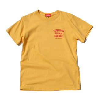 <img class='new_mark_img1' src='//img.shop-pro.jp/img/new/icons14.gif' style='border:none;display:inline;margin:0px;padding:0px;width:auto;' />Cookman クックマン T-shirts 「Original source」Mustard