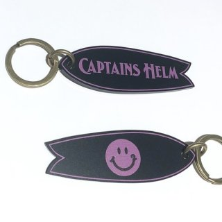 <img class='new_mark_img1' src='//img.shop-pro.jp/img/new/icons29.gif' style='border:none;display:inline;margin:0px;padding:0px;width:auto;' />CAPTAINS HELM × 12 SMILE キャプテンズヘルム #FISH KEY TAG BLK/PINK
