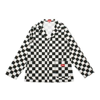 <img class='new_mark_img1' src='https://img.shop-pro.jp/img/new/icons14.gif' style='border:none;display:inline;margin:0px;padding:0px;width:auto;' />Cookman クックマン Lab.Jacket 「Checker」
