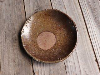 備前 皿・ぼた餅(約20.5cm)