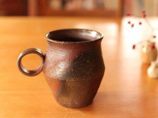 備前 コーヒーカップ(野草)