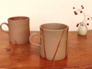 備前 コーヒーカップ (ひだすき)