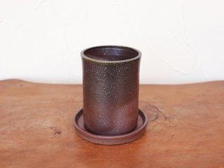 備前 植木鉢【受皿付き】
