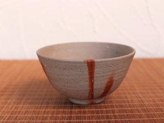 備前焼 飯碗・ひだすき(中)