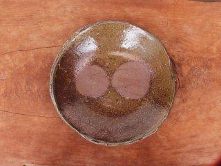備前焼 皿・ぼた餅(約19cm)