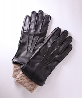 【ROYAL REPUBLIQ/ロイヤルリパブリック】レザー手袋 ブラック
