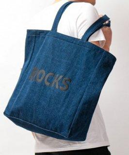 【MISERICORDIA/ミゼリコルディア】 'ROCKS×MISERICORDIA'オリジナル限定トートバック(ユニセックス)ブラック