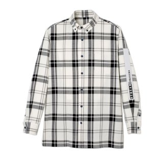 COLORFUL EMBROIDERY  CHECK SHIRTS