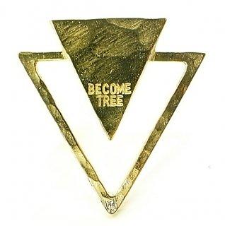 BECOME TREE DOUBLE TRIANGLE PIERCE