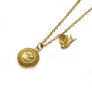 【予約受注】BECOME TREE MEDAL×SWALLOW PENDANT