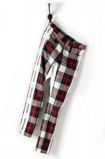 ORIGINAL FLANNEL CHECK PANTS INSEAM STRECH PANTS