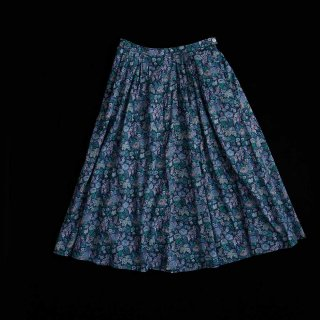 FLORAL PLEAT SK