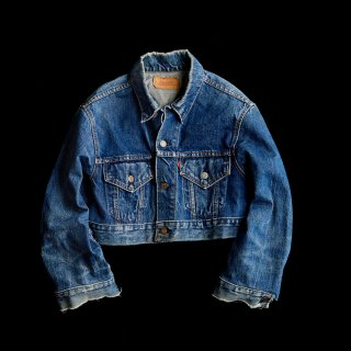 REMAKE DENIM JACKET(BIG E)