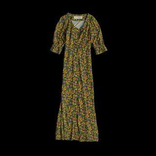 <SALE>FLOWER PRINT DRESS