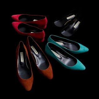 <SALE>BLOCK HEEL PUMPS