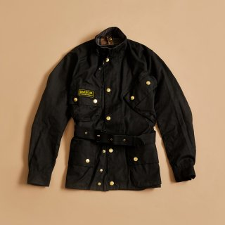 BARBOUR OILED BIKER JACKET