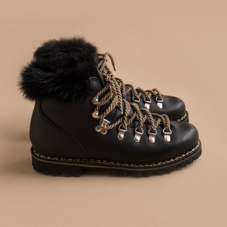 Paraboot Short Boots with Fur