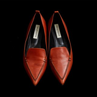 <SALE>POINTED FLAT SHOES